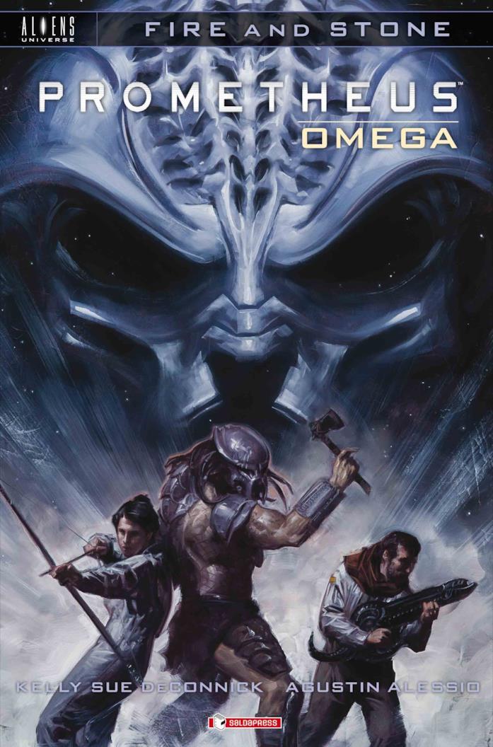 Cover di Prometheus Omega
