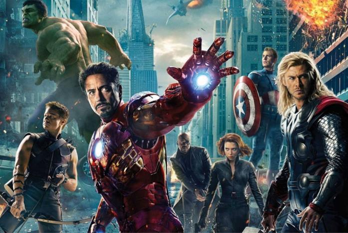 I Vendicatori del Marvel Cinematic Universe