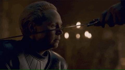 Gwendoline Christie in Game of Thrones 8x02