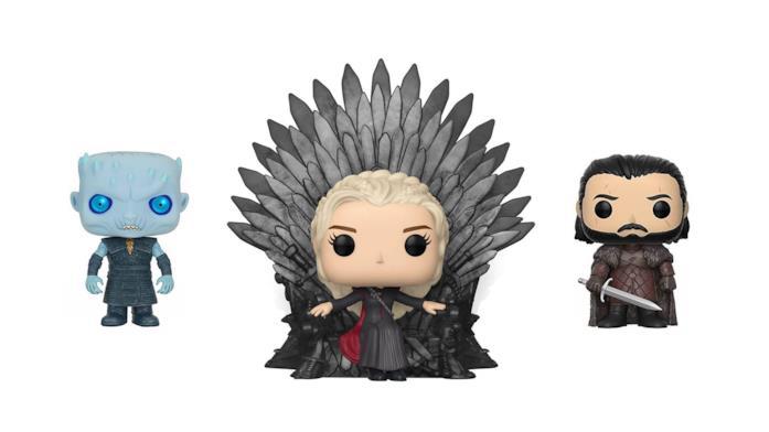 Il Re della notte, Daenerys e Jon Snow Funko Pop