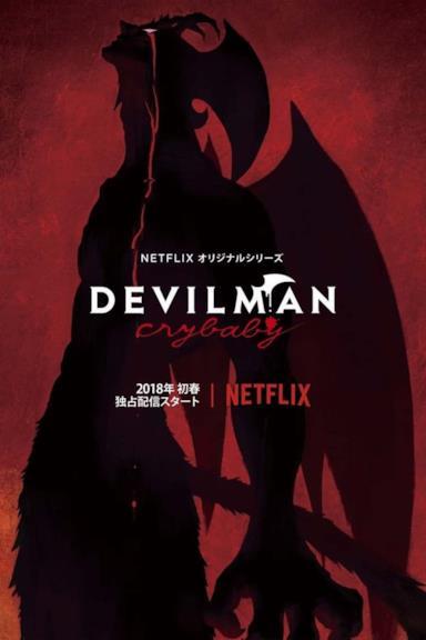 Poster Devilman Crybaby