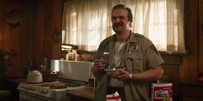 Nel primo trailer di Stranger Things 4 c'è anche Hopper