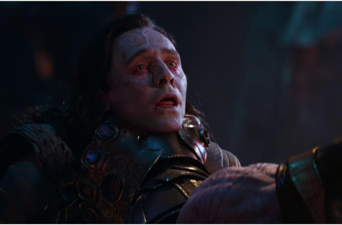Thanos uccide Loki in Infinity War