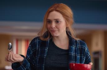 Elizabeth Olsen come Wanda in WandaVision