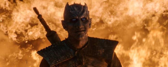 Il Re della Notte è immune al fuoco