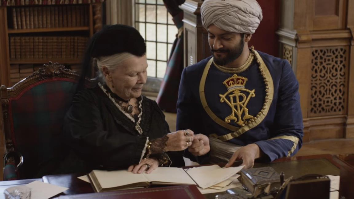 Judi Dench nel trailer di Vittoria e Abdul