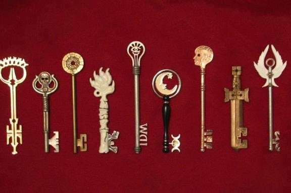 La replica ufficiale delle chiavi di Locke & Key