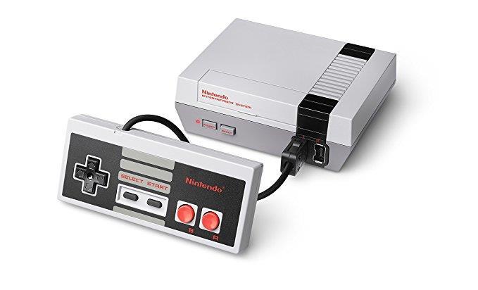 Il Nintendo 8-bit in versione Classic Mini