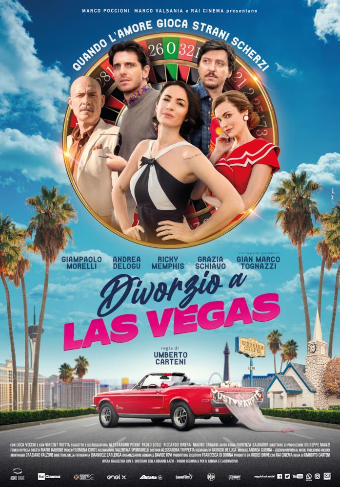Il poster ufficiale del film Divorzio a Las Vegas