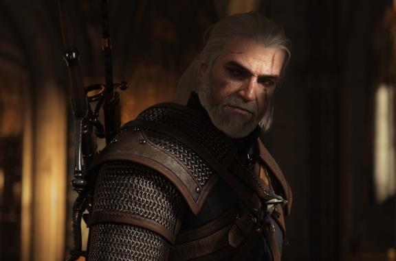 Geralt di Riva in The Witcher 3: Wild Hunt