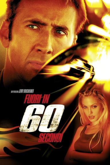 Poster Fuori in 60 secondi