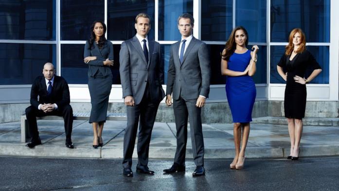 Foto del cast di Suits, prima stagione