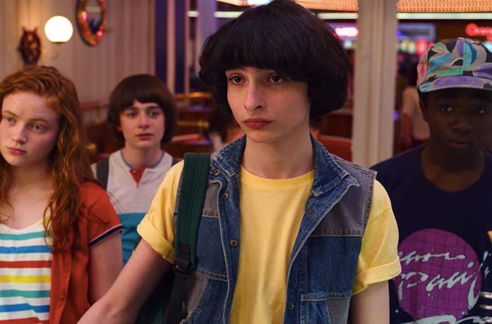 Mike e i suoi amici nella terza stagione di Stranger Things