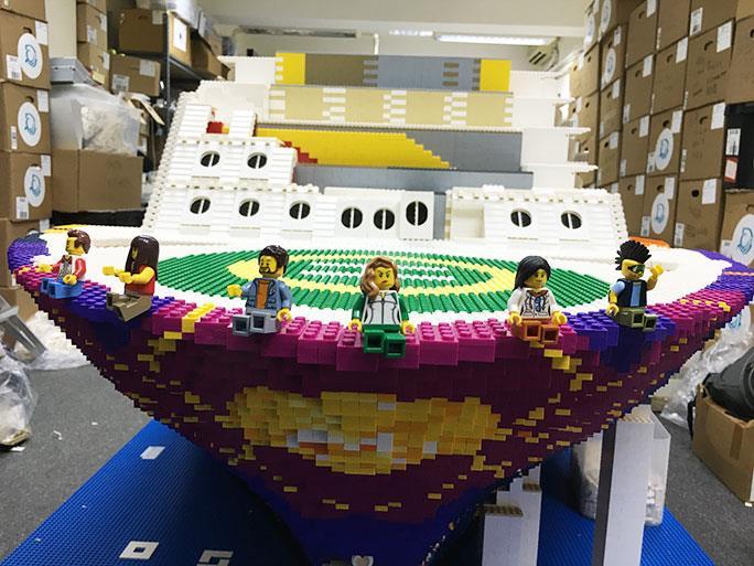 Il set World Dream di LEGO: dettagli della prua