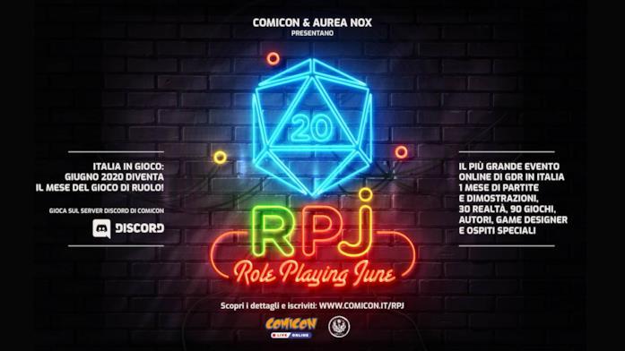 La locandina del RPJ - Role Playing June