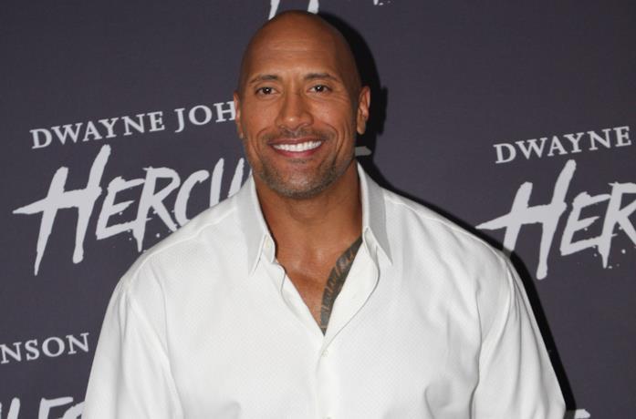 Dwayne Johnson aka The Rock a un evento ufficiale