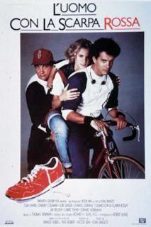 Poster L'uomo con la scarpa rossa
