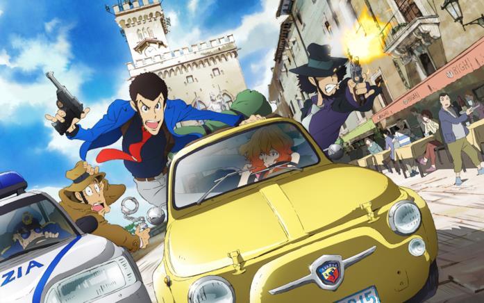 Lupin Italia anime