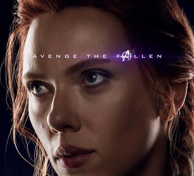 Character poster di Avengers: Endgame dedicato a Black Widow