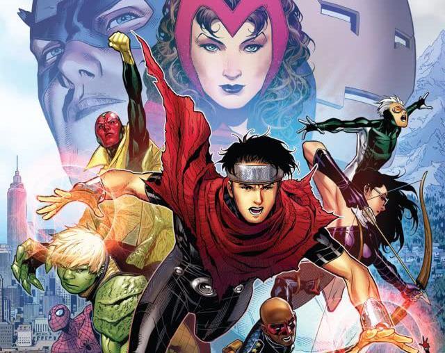 Dettaglio della cover di Avengers: The Children's Crusade #1