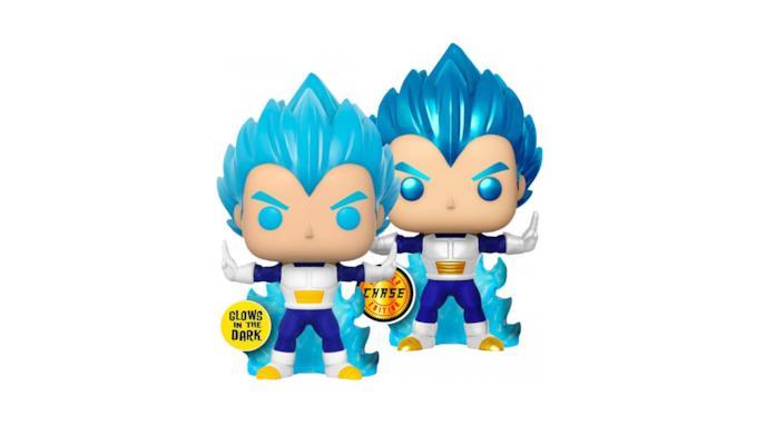 Il Funko Pop di Vegeta Super Saiyan Blu