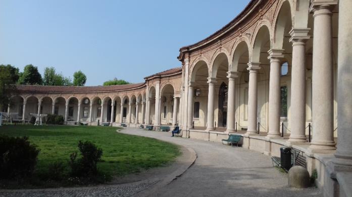La Rotonda della Besana, ancora oggi location di sfilate a Milano