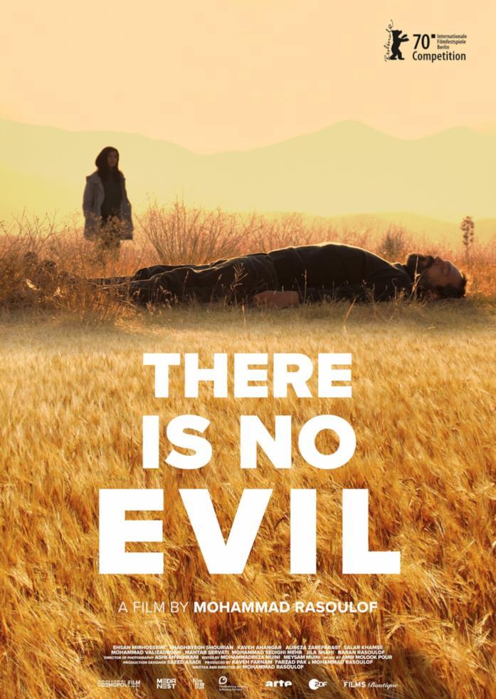 Il poster del film There Is No Evil