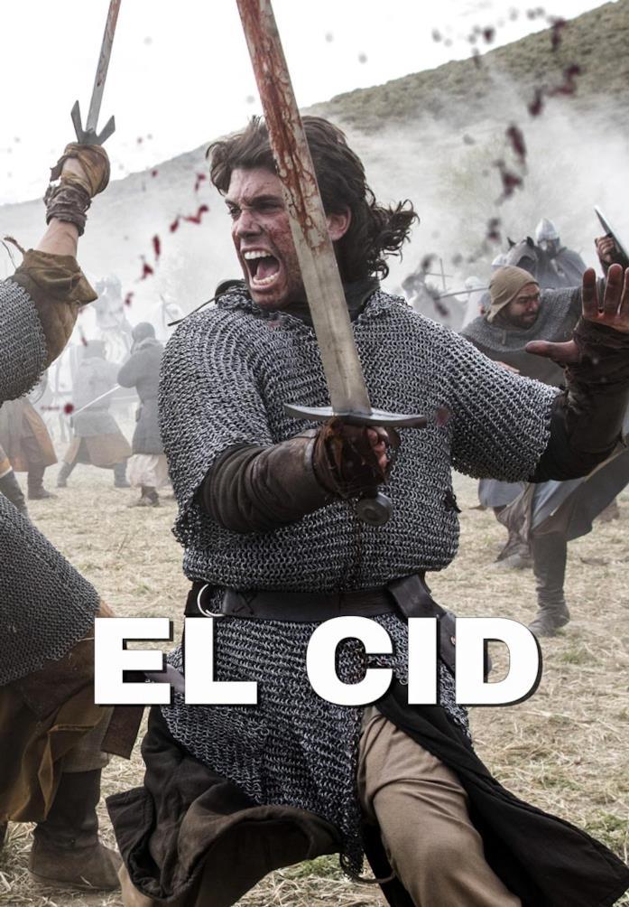 Jaime Lorente nella locandina di El Cid