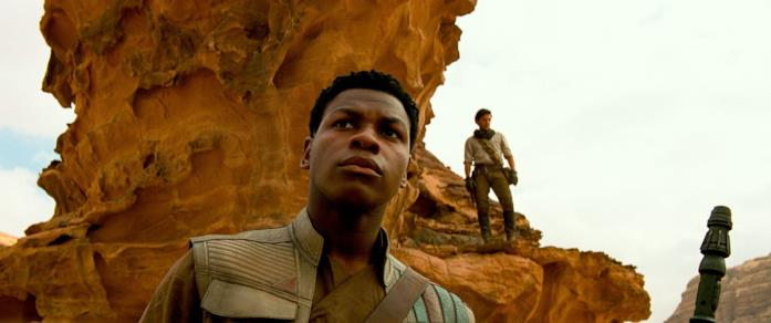 John Boyega in Star Wars: L'ascesa di Skywalker