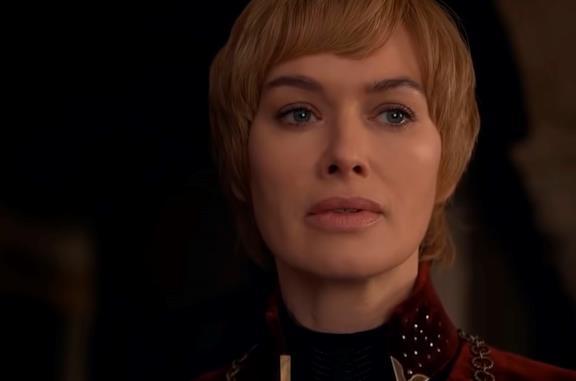 Lena Headey nei panni di Cersei Lannister in Game of Thrones