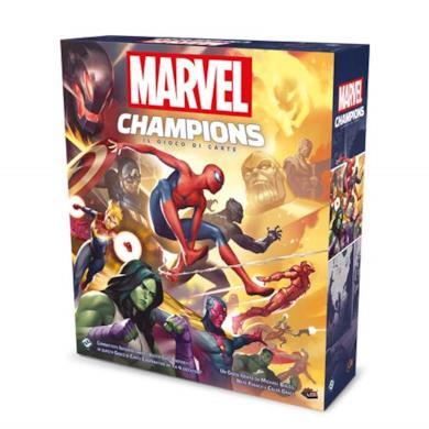 Asmodee Italia- Marvel Champions: Il Gioco di Carte, Colore, 9330