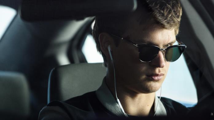 Una sequenza tratta da Baby Driver - Il genio della fuga