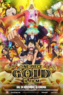 Poster One Piece Gold: Il film
