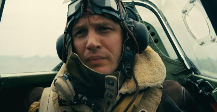 Tom Hardy è un asso dell'aviazione in Dunkirk