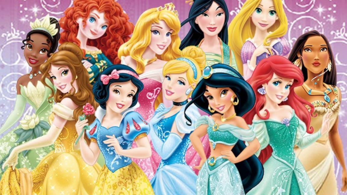 Un'immagine delle principesse Disney