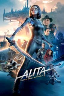 Poster Alita - Angelo della battaglia