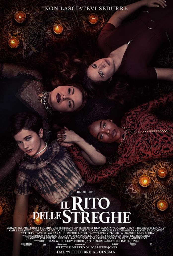 Il poster italiano del film Il rito delle streghe