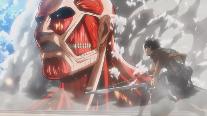 Attack on Titan Eren Colossale