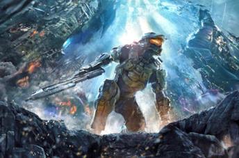 Master Chief in una immagine promozionale di Halo