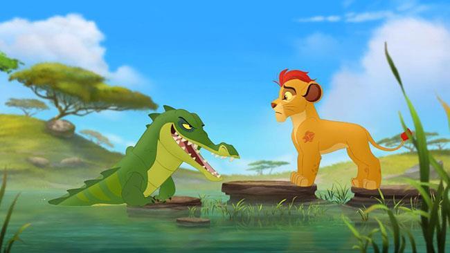 Una scena delle serie The Lion Guard