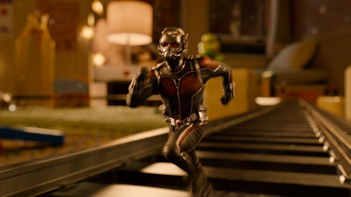 Paul Rudd veste i panni di Ant-Man