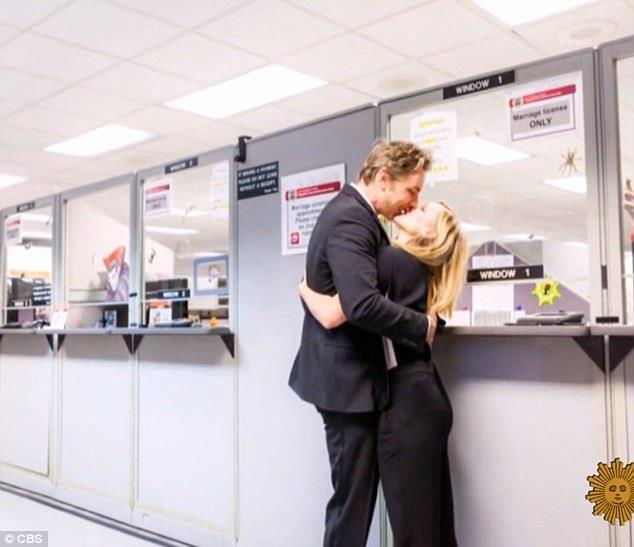 Kristen Bell e Dax Shepard novelli sposi
