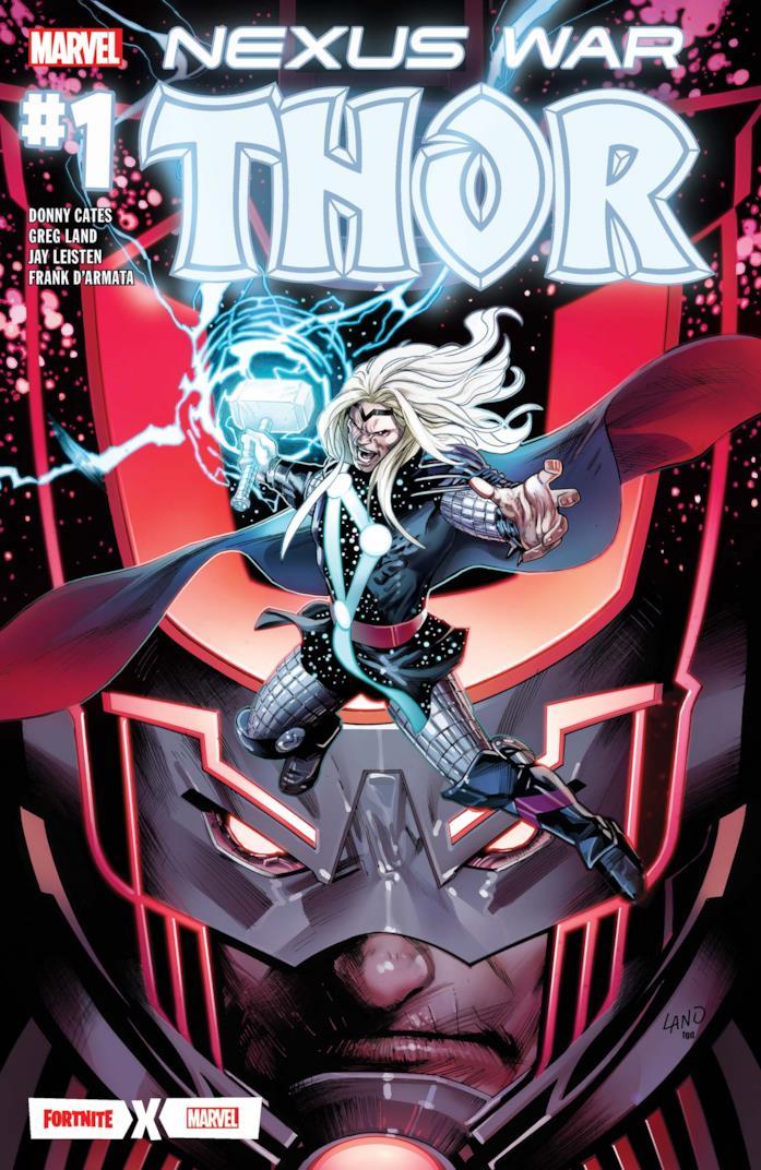 La copertina di Thor: Guerra per il Nexus