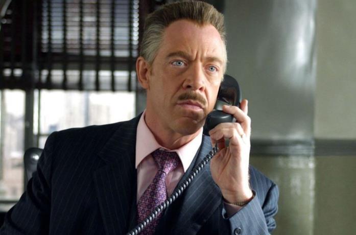 J. K. Simmons nei panni di J. Jonah Jameson