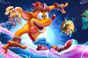 Crash Bandicoot e sua sorella Coco
