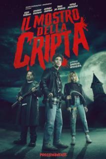 Poster Il mostro della cripta