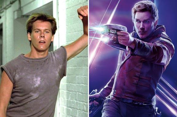 Kevin Bacon e Chris Pratt
