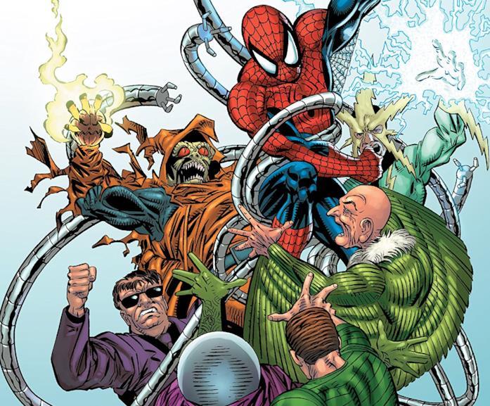 Dettaglio della cover di Amazing Spider-Man Epic Collection: Return of the Sinister Six