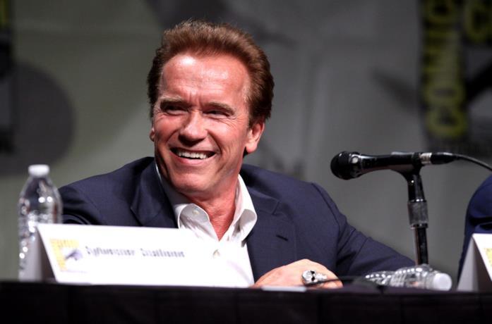 Arnold Schwarzenegger al San Diego Comic-Con