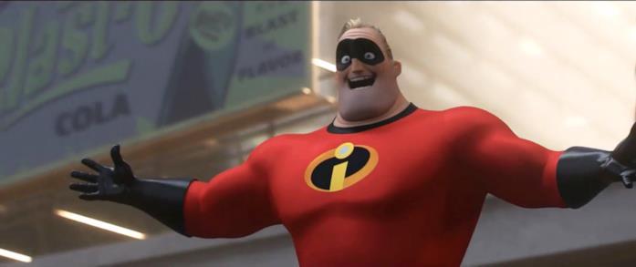 il personaggio di Mr. Incredible